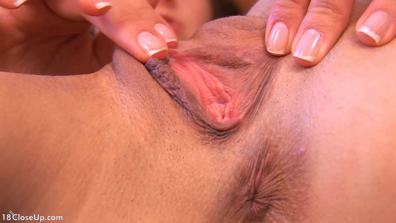 Clit orgasm close up