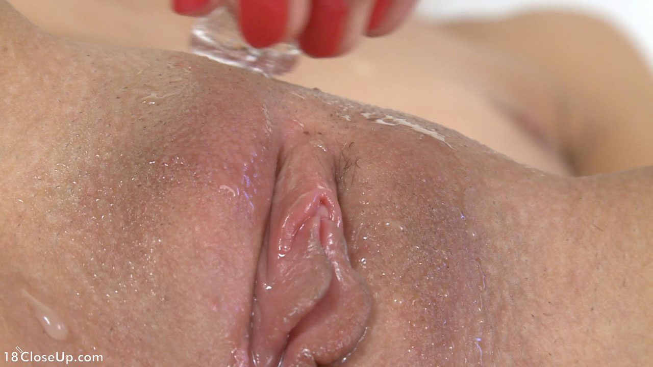 sexy black girl facial