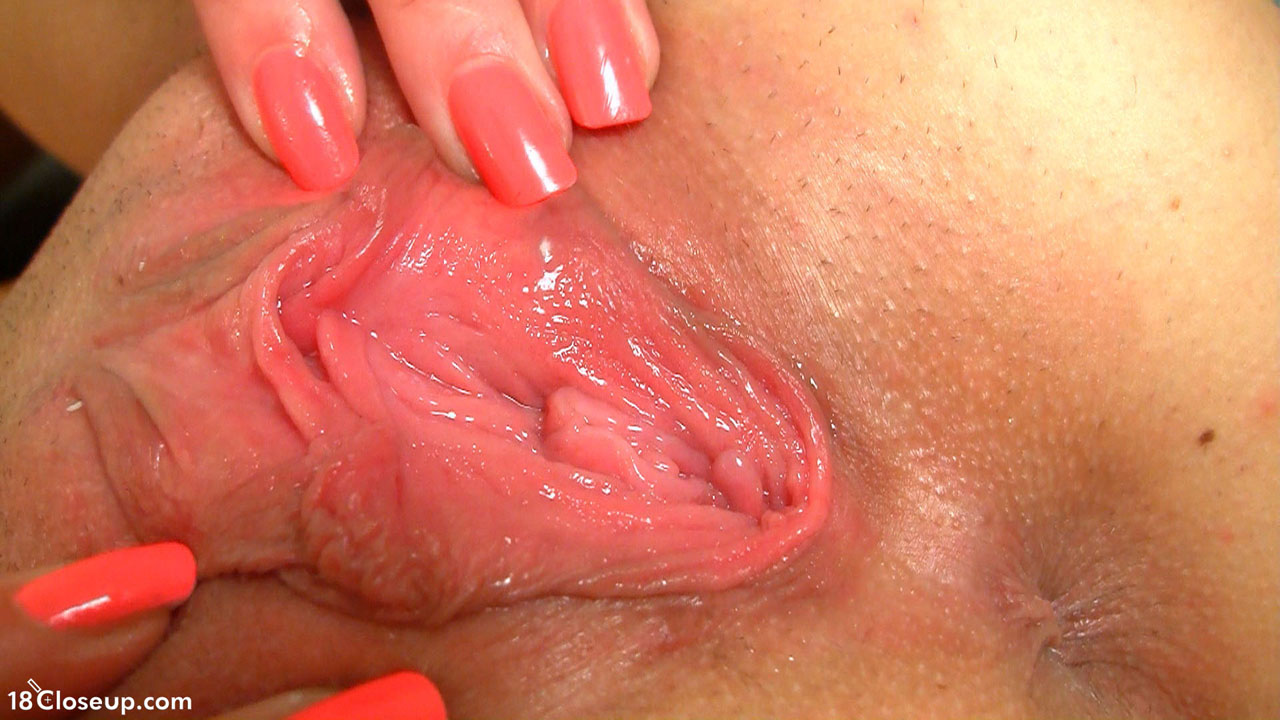 Creamy Pussy Close Up